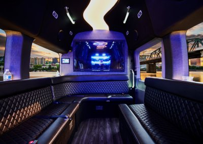 Wine and Brewery Tours 10-12 Passenger Ford Transit Party Van