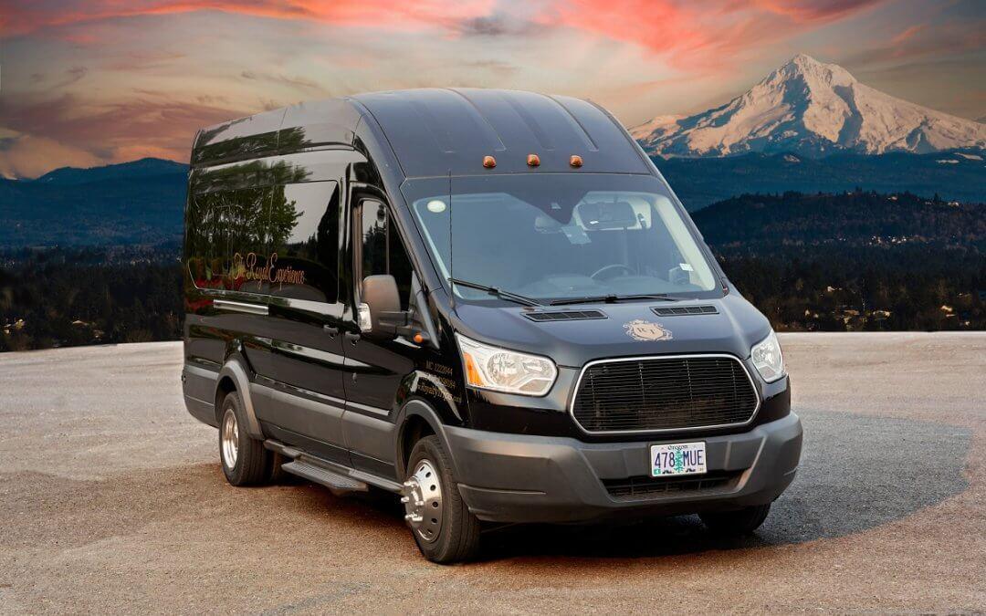10-12 Passenger Ford Transit Party Van